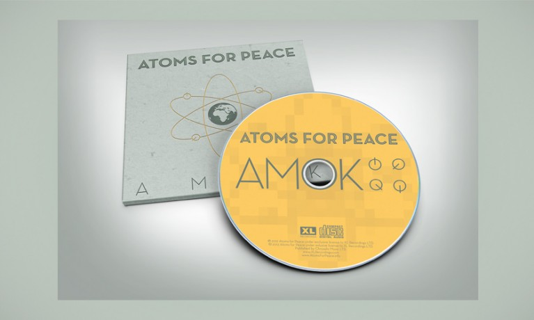 Atoms for Peace CD concept