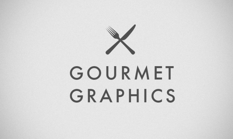 Gourmet Graphics Logo/Infographic
