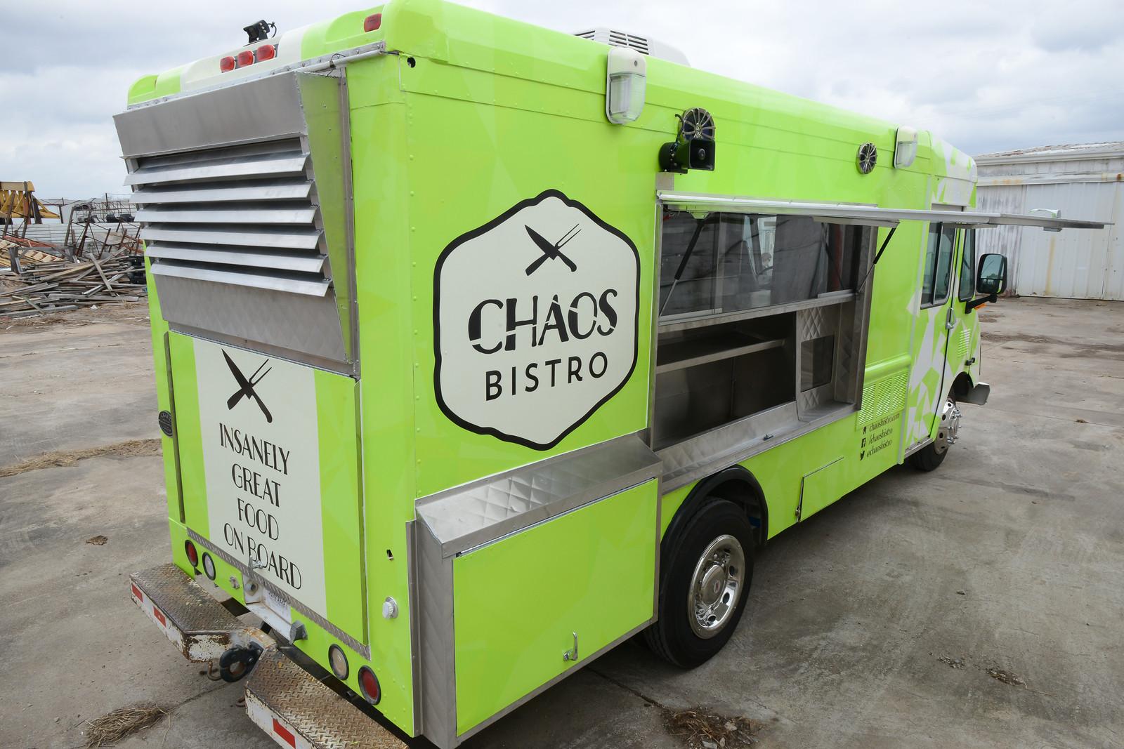 Chaos Bistro – Food Truck Branding