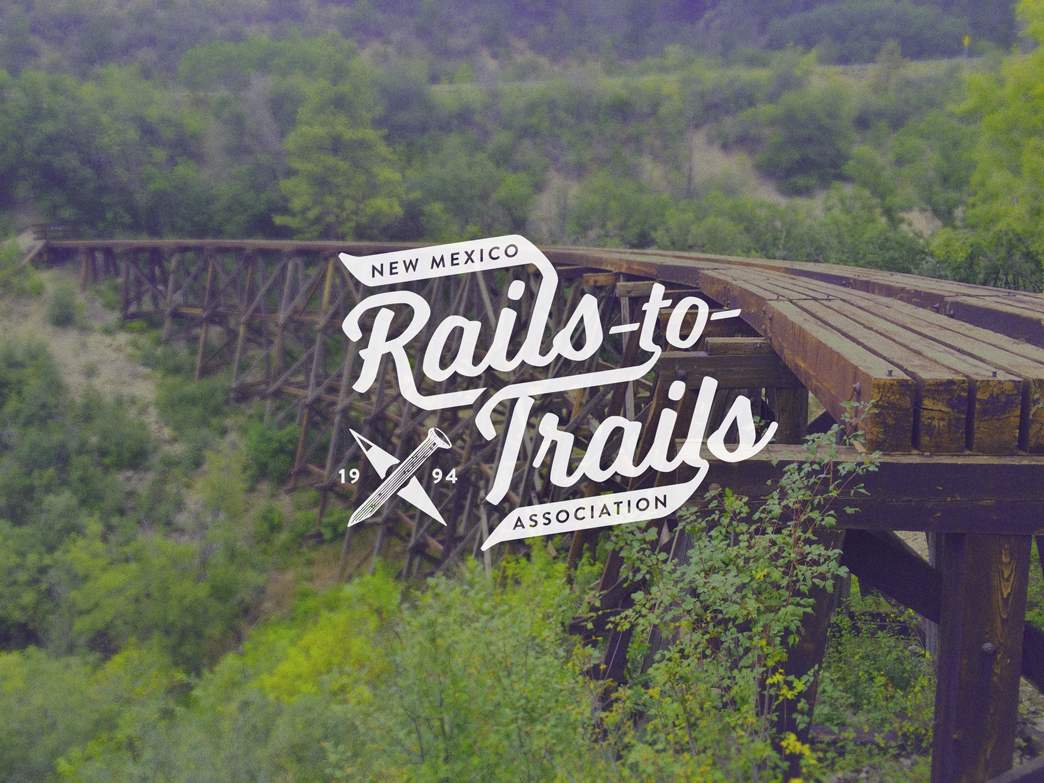 NM Rails-to-Trails Association Branding